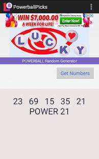 How to get Powerball Random Generator app lastet apk for