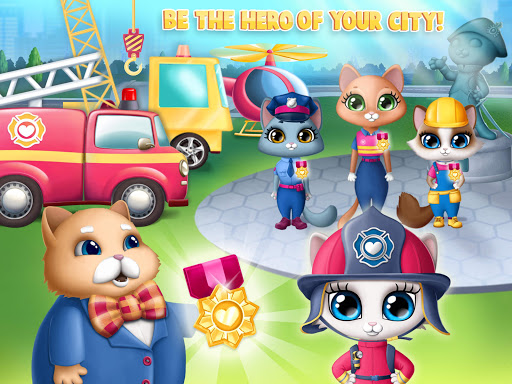Kitty Meow Meow City Heroes - Cats to the Rescue! 2.0.51 screenshots 24
