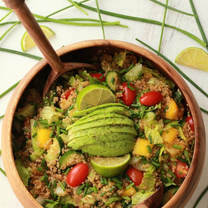 Quinoa Salad with Sesame Soy Dressing Recipe