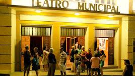 Teatro municipal de Tabernas, donde esta noche se celebra la gala.