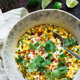 Mexican Grilled Corn Salad.