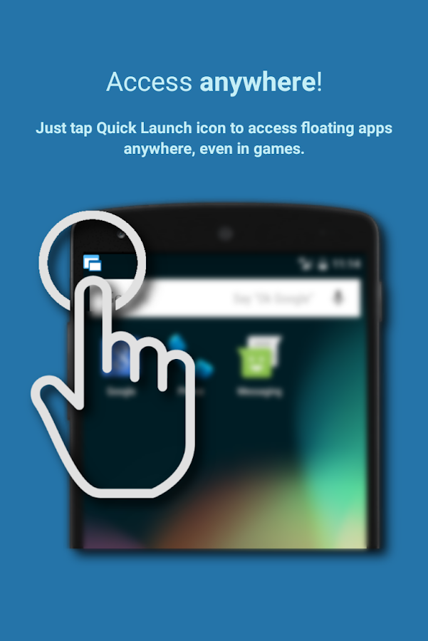 Floating Apps FREE (multitasking)- screenshot