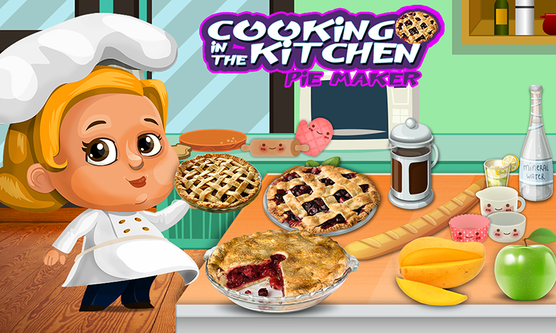 Cooking in Kitchen Pie Maker- screenshot