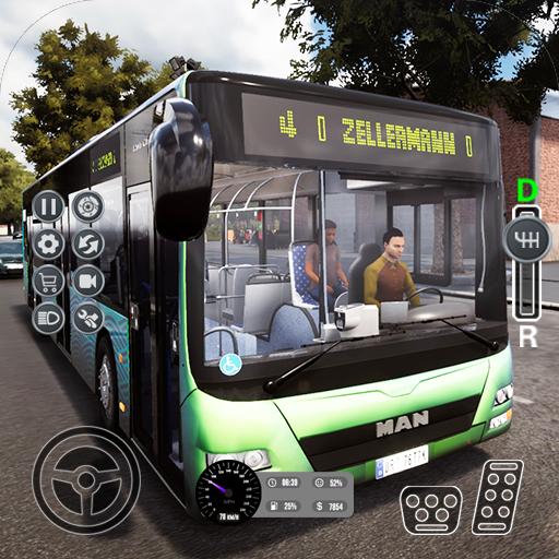 Euro Bus Sim 3D 2019