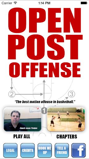 Open Post Offense