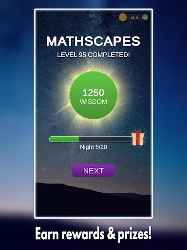Mathscapes: Best Math Puzzle, Number Problems Game android2mod screenshots 7