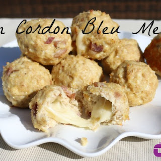 Slow Cooker Chicken Cordon Bleu Meatballs