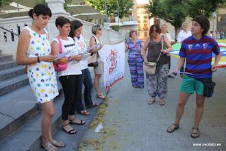 Photo: 28J Huesca. 28.06.2015 Concentración y lectura de manifiestos.