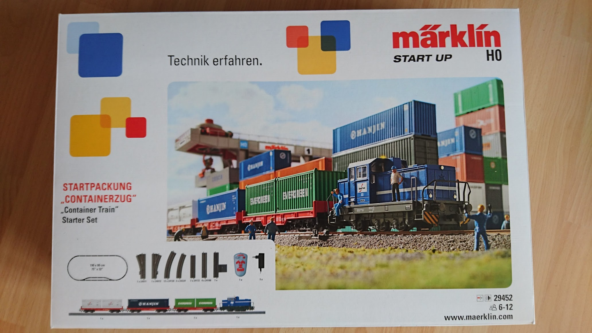 Märklin Start up Startpackung Containerzug 29452