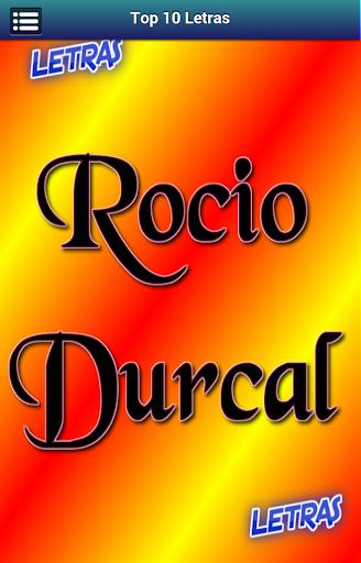 Letras Rocio Durcal