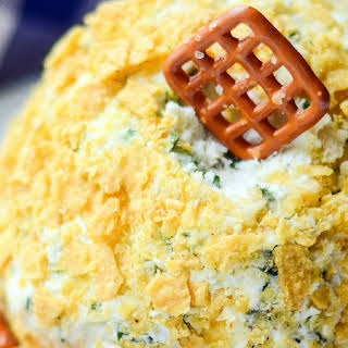 Fire Roasted Jalapeno Cheese Ball.