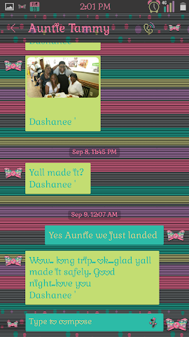 android It's Minnie Go Sms Screenshot 2