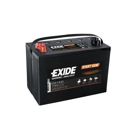 Tudor startbatteri AGM 12V/100Ah