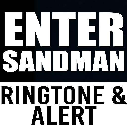 enter sandman ringtone