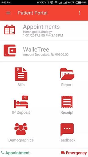 Ayushman Hospital Patient Portal 1.0.2 screenshots 2