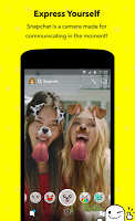 screenshot of Snapchat