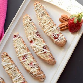 Strawberry Pecan Biscotti