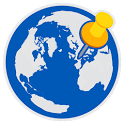 Visited: Map where ive been. Travel Tracker App icon