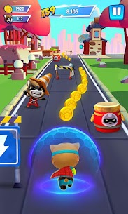 Talking Tom Hero Dash Mod Apk 1.5.1.842 (Unlimited Money + Diamonds) 4