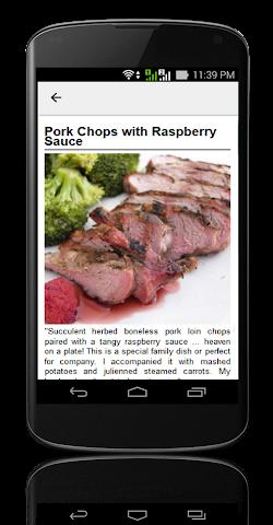 android Pork Chop Recipes ! Screenshot 7