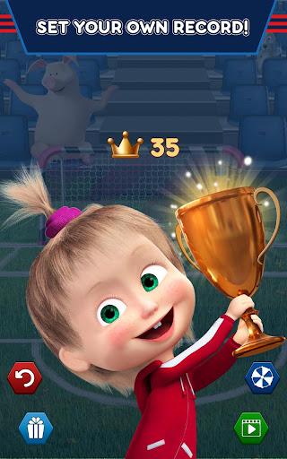 Masha and the Bear: Football Games for kids 1.3.7 screenshots 21