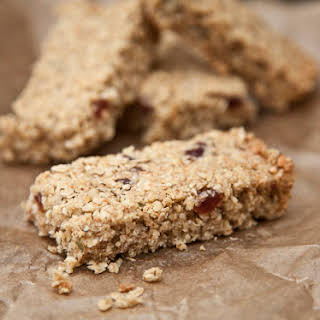 Cherry and Coconut Flapjacks.