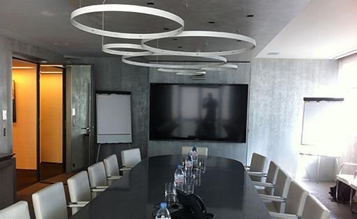salle de réunion connectée