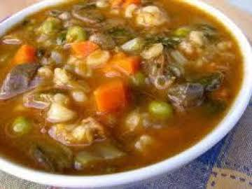 Hearty Vegetable Beef Soup -- Oh So Flavorful