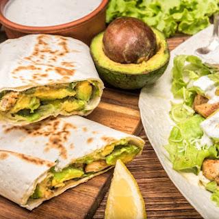 Turkey & Avocado Blender Burritos.