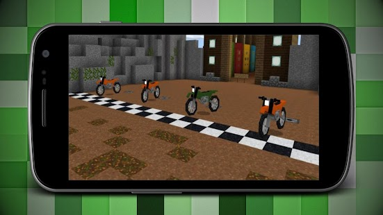 Car Racing Map for Minecraft MCPE - náhled