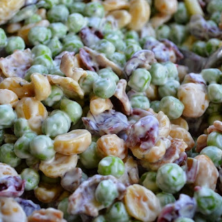 Crunchy Pea Salad with Bacon