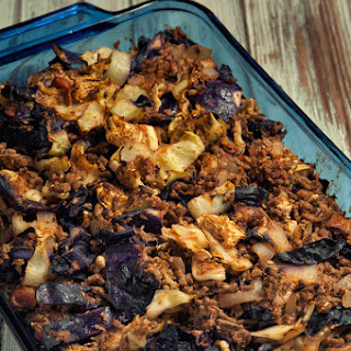 Baked Cabbage Casserole