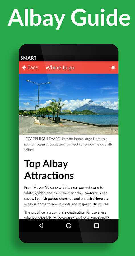 Albay Guide- screenshot