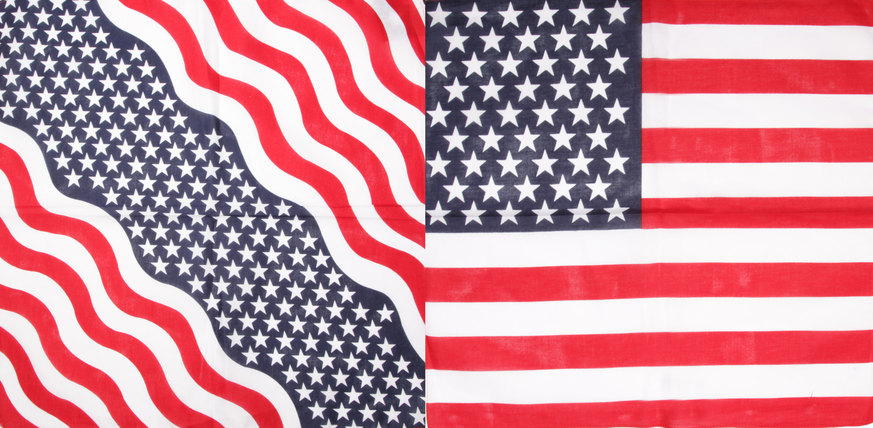 100% cotton flag bandanas Image