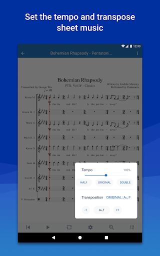 MuseScore: view and play sheet music 2.5.25 screenshots 16