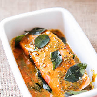 5 Minute Salmon Sauce – Indian Style.