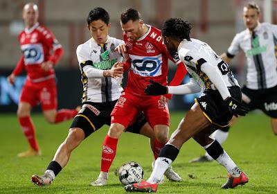 Kortrijk gunt trainer Vanderhaeghe geen verjaardagscadeau en gaat met 1-3 onderuit tegen Charleroi