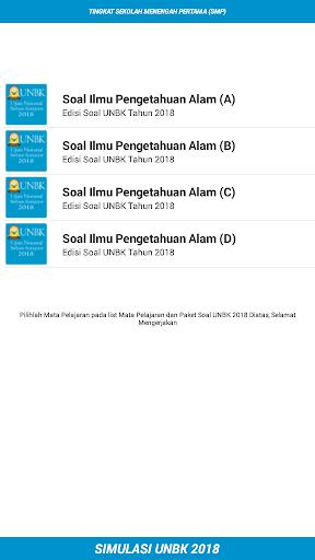 UNBK SMP 2018 (Ujian Nasional) 1.2 screenshots 5