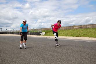 Photo: Aline, la bretonne tranquille et qui va jusqu'au bout se sa course avec le sourire (il est 15h37 ce dimanche)...
