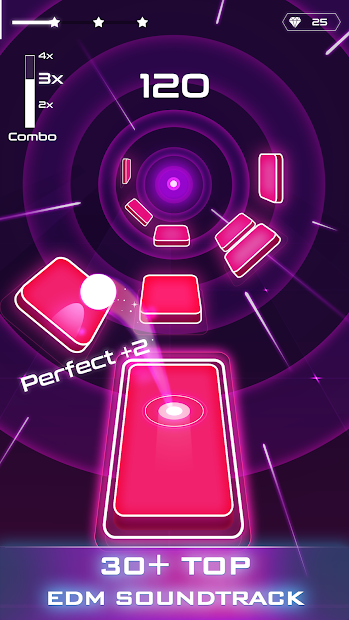 Magic Twist: Twister Music Ball Game Android App Screenshot