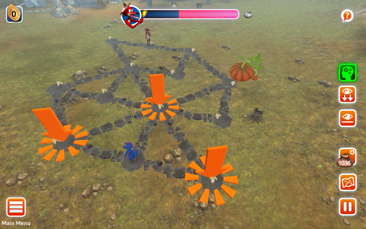Pumpkin Path – Logic Puzzle- screenshot