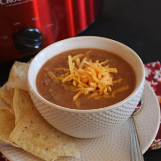 Refried Bean Soup.
