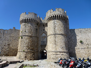 Photo: A fort for Crusaders