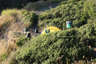 Photo: campsite