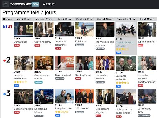 Programme TV 3.0 screenshots 13
