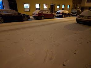 Photo: Getting snowy.