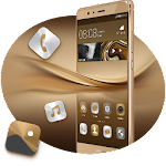 Theme for P8 & P10 Gold Wallpaper Icon Pack 2.0.50