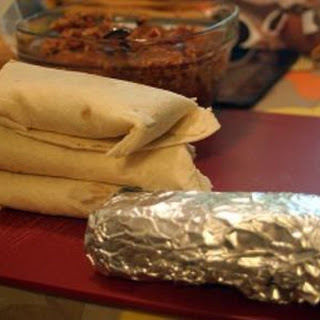 Super Easy Freezer Bean Burritos