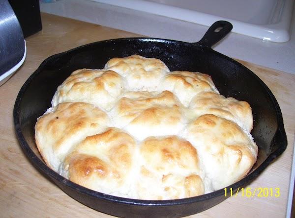 Iron Skillet  Buttermilk Biscuits Recipe