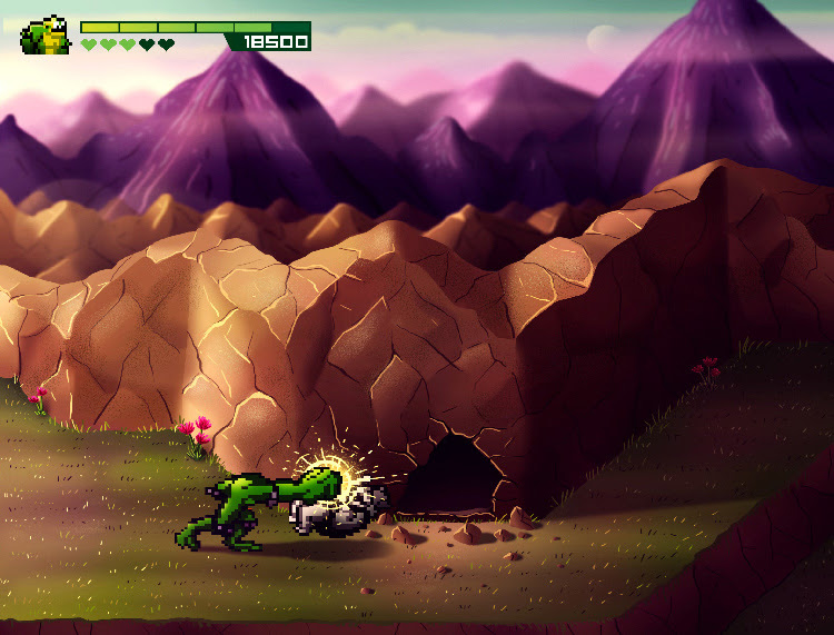 BattleToads - wersja Andrésa Moncayo